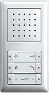 Устройство громкоговорящей связи квартирной станции Gira, Gira Standard 55